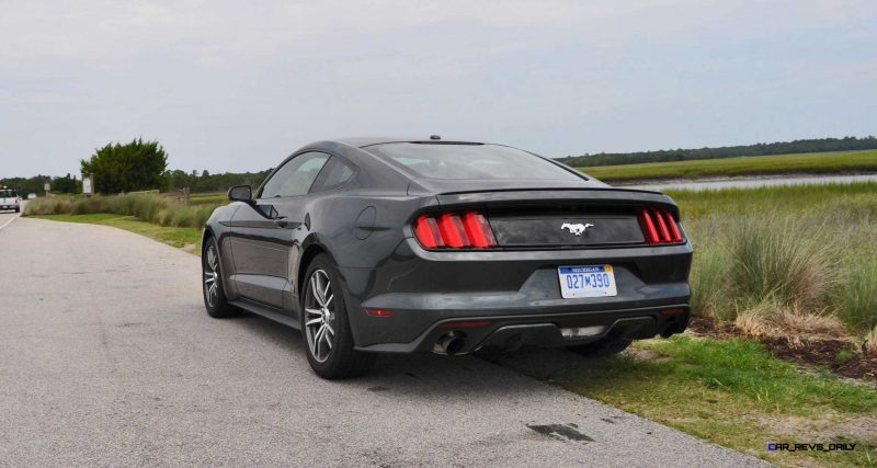 2015 Ford Mustang EcoBoost Automatic Review 87