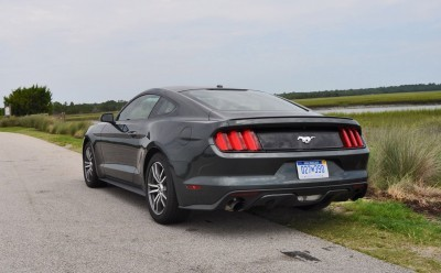 2015 Ford Mustang EcoBoost Automatic Review 88