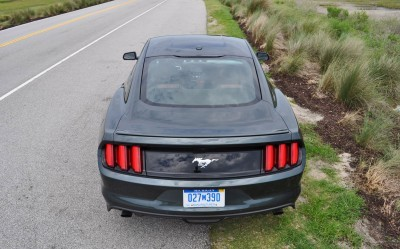 2015 Ford Mustang EcoBoost Automatic Review 89