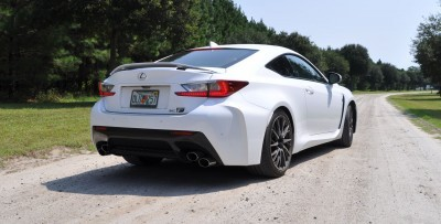 2015 Lexus RC-F Hits State Park Twisties HARD! 2