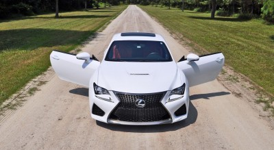 2015 Lexus RC-F Hits State Park Twisties HARD! 3