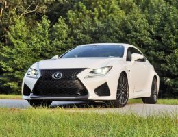 4K Drive Video 4-Pack – 2015 Lexus RC-F Hits State Park Twisties HARD!