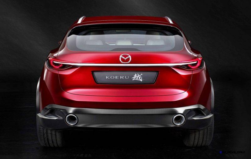 2015 Mazda KOERU Concept 5