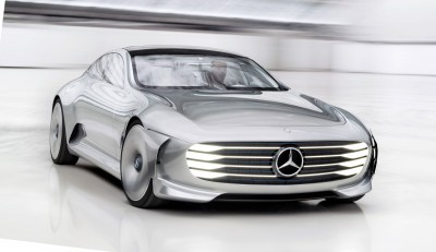 "Mercedes-Benz ""Concept IAA"" (Intelligent Aerodynamic Automobile)"
