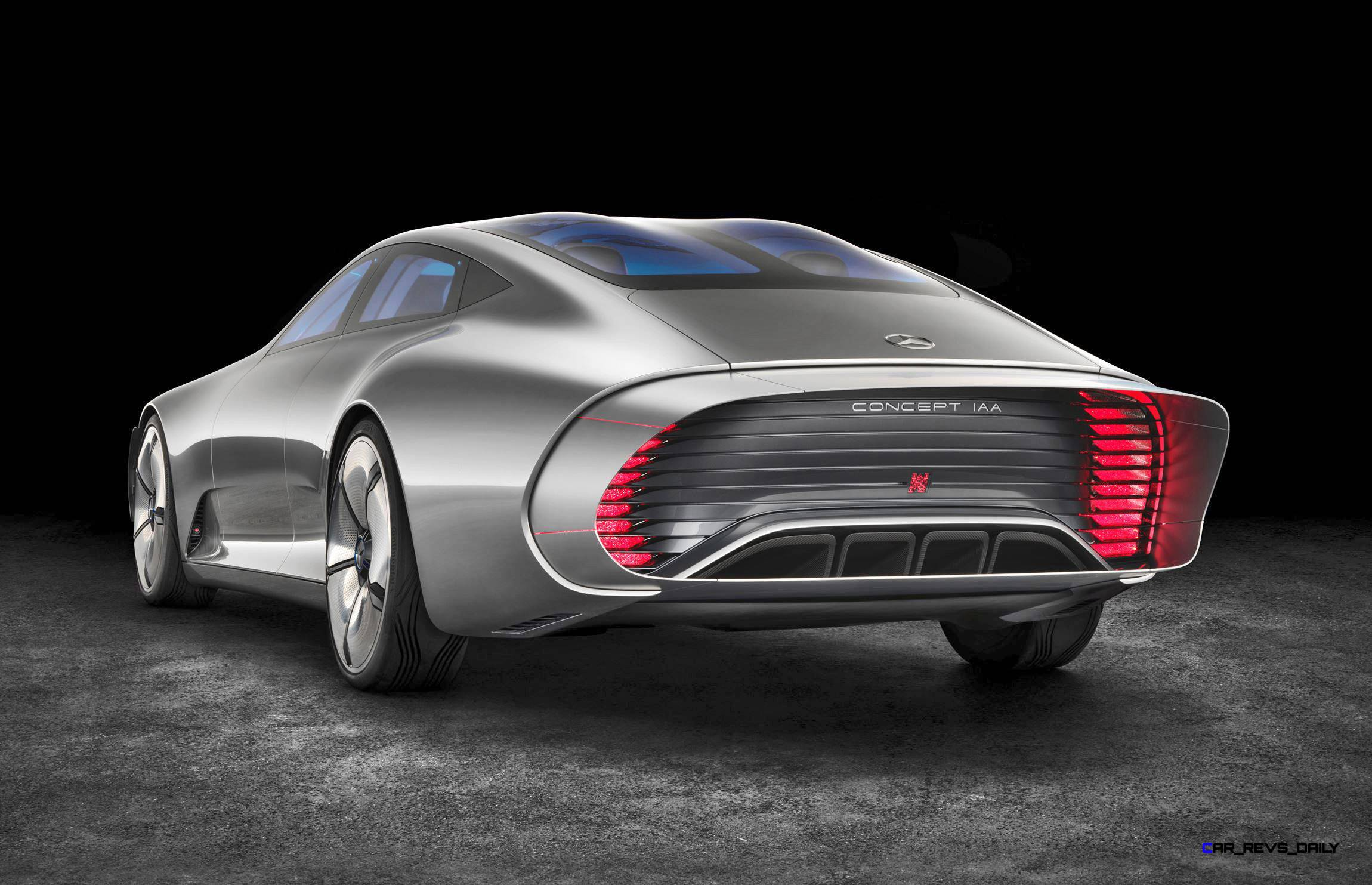 2015 mercedes benz concept iaa for Mercedes benz schedule a