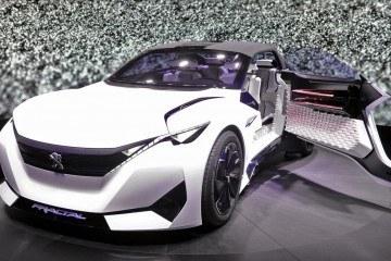 2015 Peugeot FRACTAL Concept - EVCC Explores 3D-Printed Materials