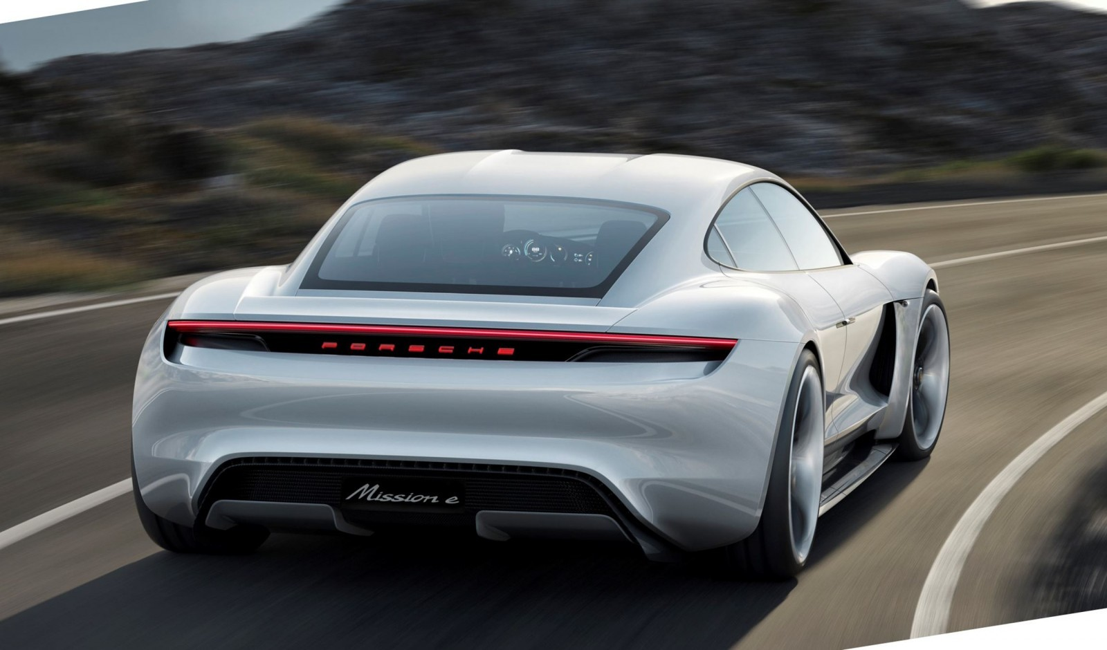 3 5s 2015 Porsche Mission E 600hp Concept Is 4 Door