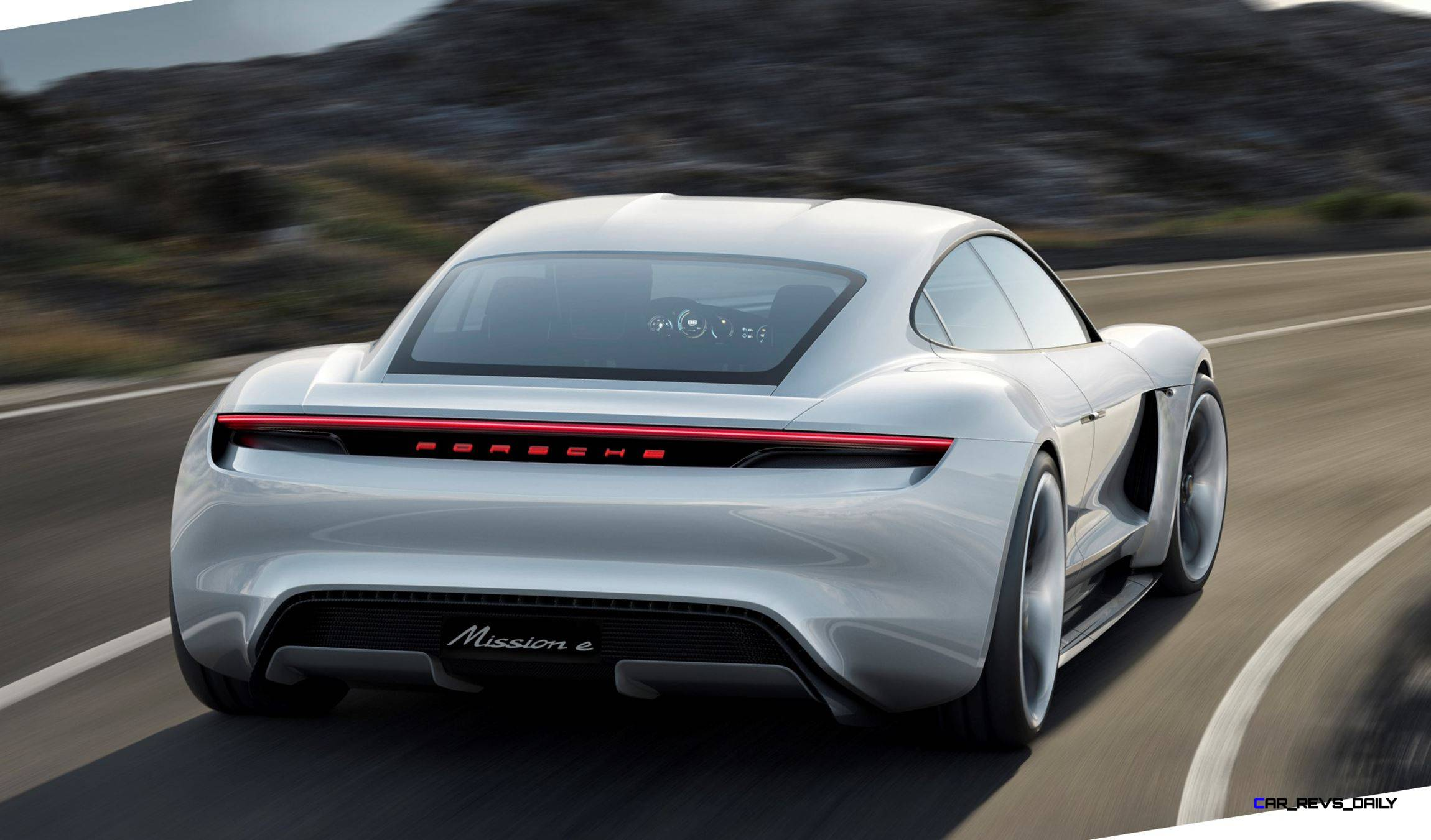 3 5s 2015 Porsche Mission E 600hp Concept Is 4 Door