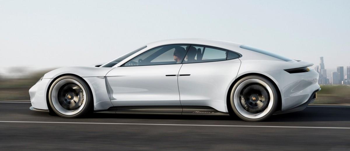 35s 2015 porsche mission e 600hp concept is 4 door battery boxster - Porsche 2015 4 Door
