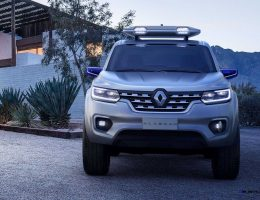 2015 Renault ALASKAN Concept Previews Upcoming Mid-Size Pickup Truck