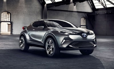 2015 Toyota C-HR Concept 4-Door 1