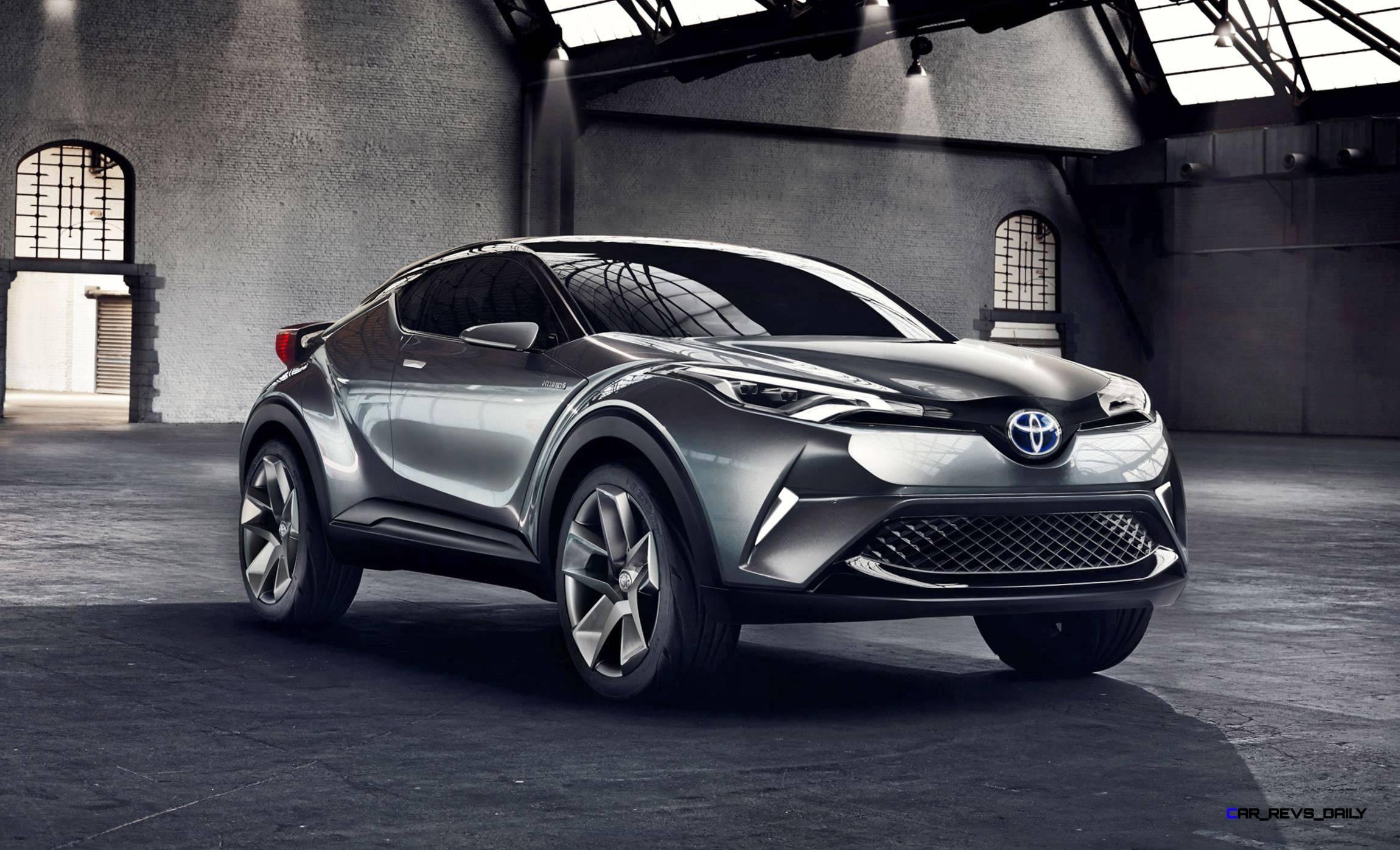 2015 Toyota C-HR Concept 4-Door 1