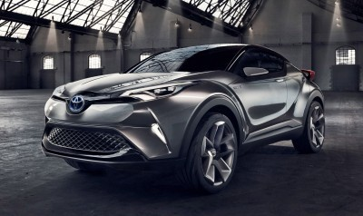 2015 Toyota C-HR Concept 4-Door 10