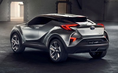 2015 Toyota C-HR Concept 4-Door 11