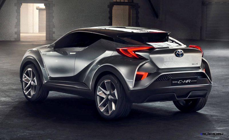 2015 Toyota C-HR Concept 4-Door 11