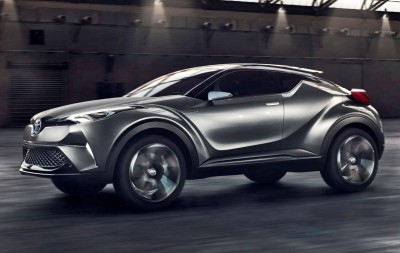 2015 Toyota C-HR Concept 4-Door 12