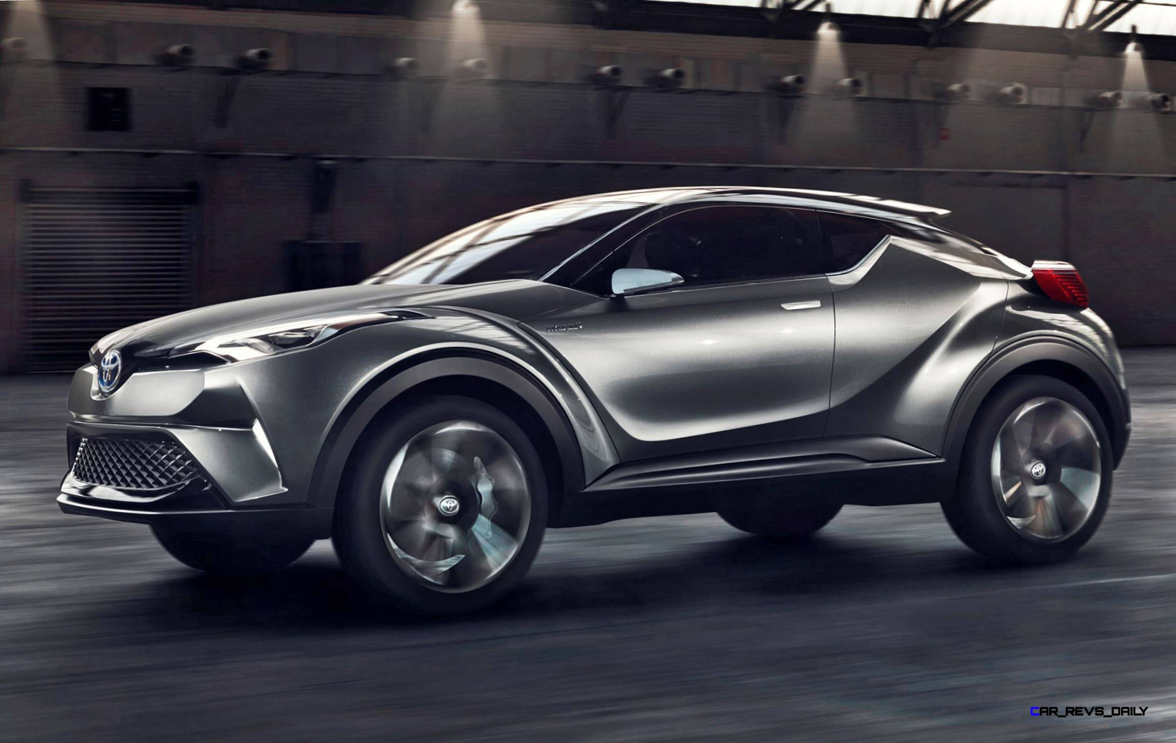 2015 Toyota C-HR Concept 4-Door