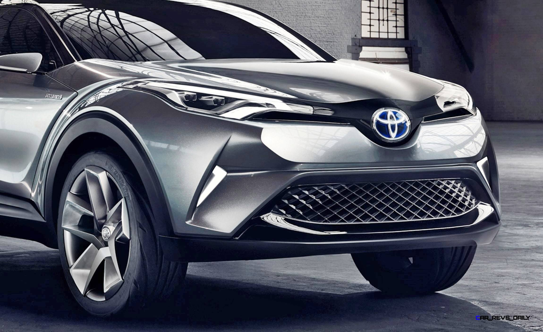2015 Toyota C Hr Concept Updated As 4 Door Production