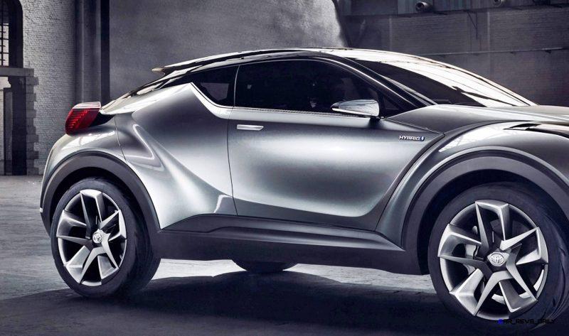 2015 Toyota C-HR Concept 4-Door 4