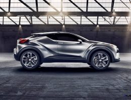 2015 Toyota C-HR Concept Updated as 4-Door, Production Model En Route for 2017