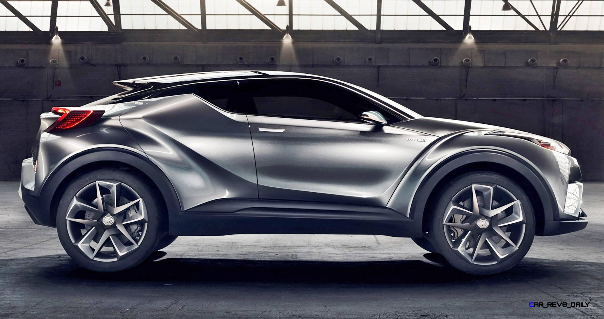 2015 Toyota C-HR Concept 4-Door 6