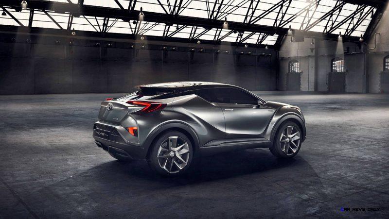 2015 Toyota C-HR Concept 4-Door 7