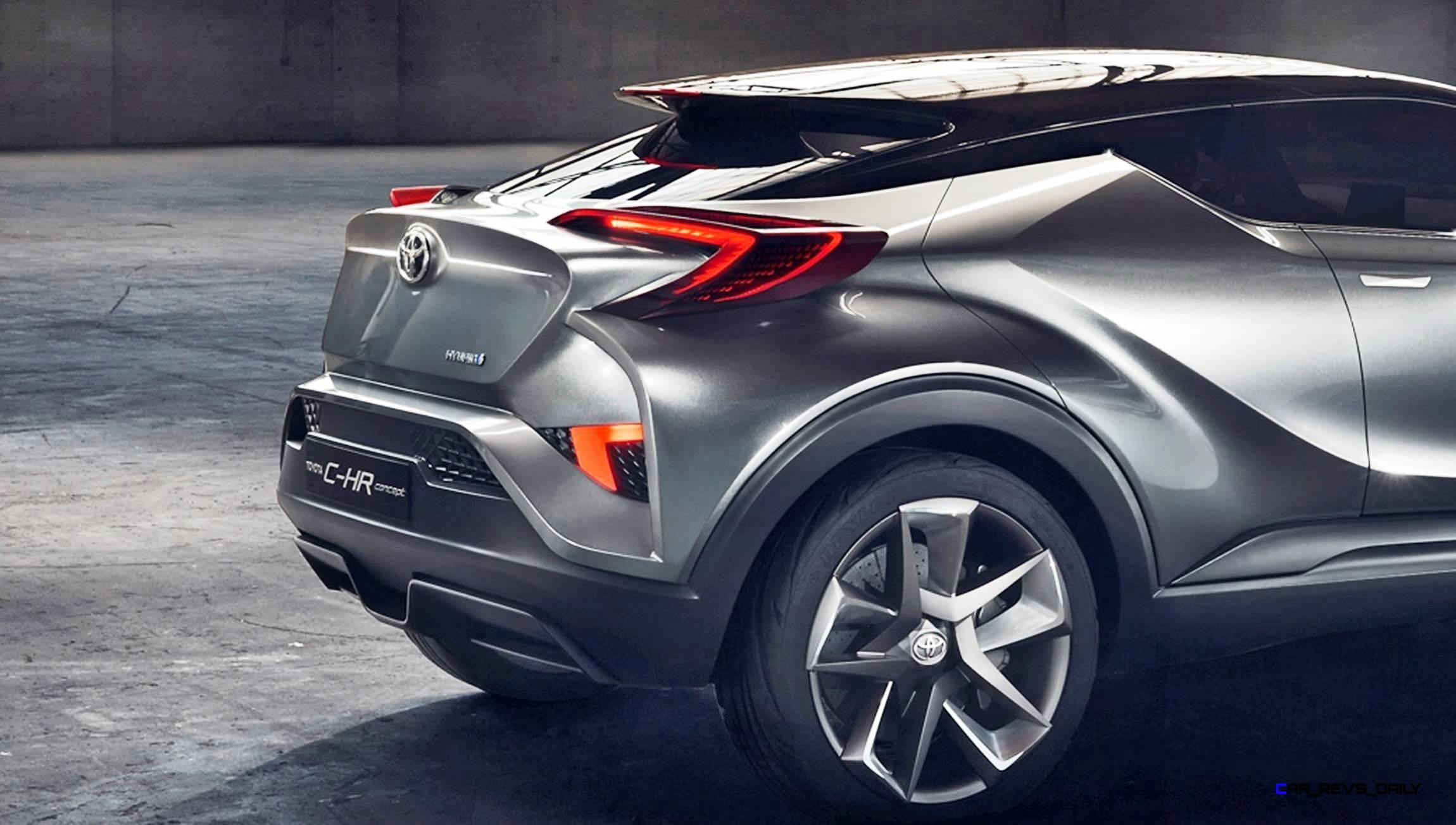 2017 Toyota C Hr Concept 4 Door 8