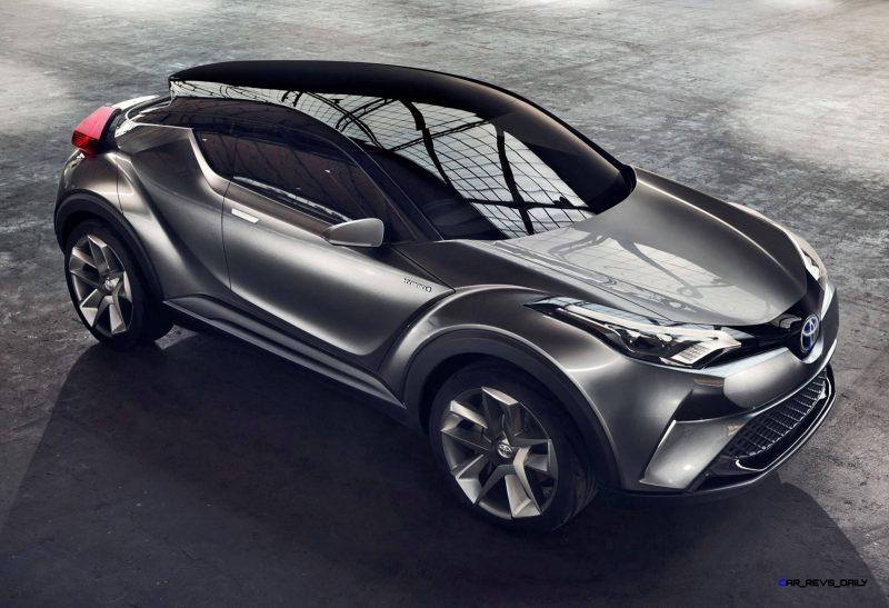 2015 Toyota C-HR Concept 4-Door 9