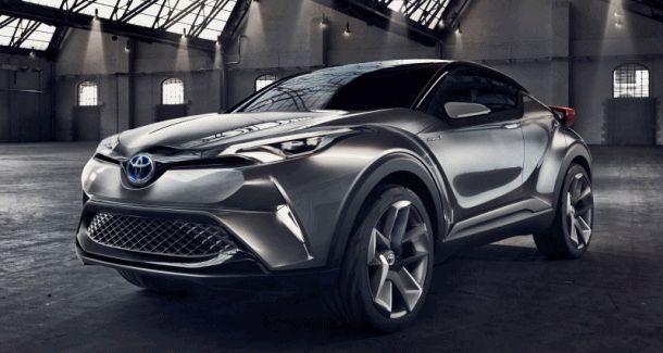 2015 Toyota C-HR Concept 4-Door