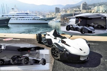2016 BAC Mono Marine Edition Christened Ahead of Monaco Yacht Show