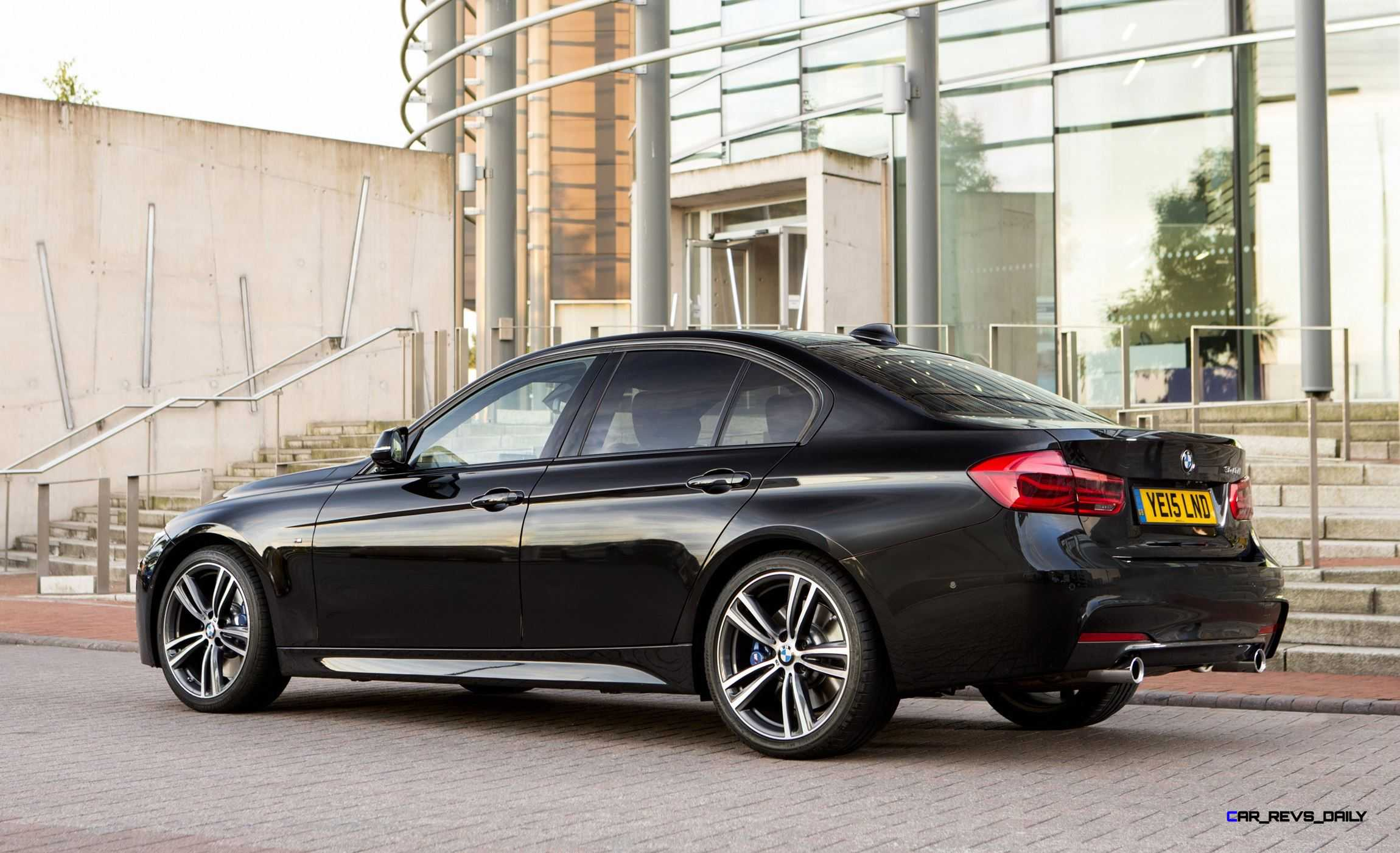 The new bmw 3 series sedan and sports wagon