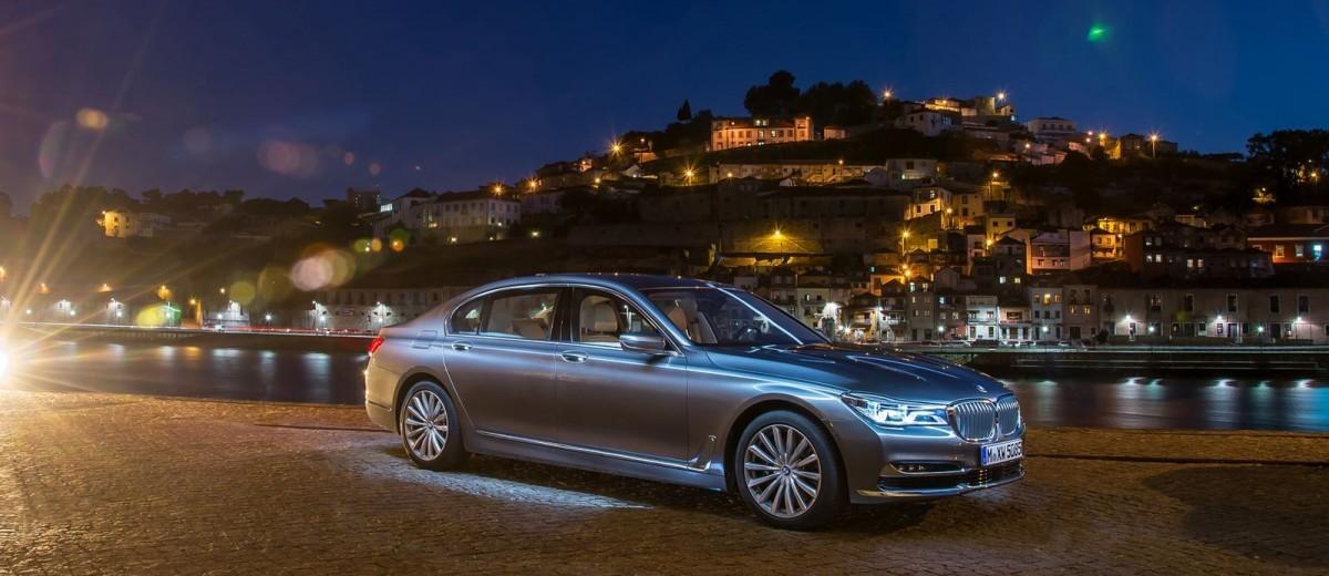 2016 BMW 750Li Stars In Massive New Photoshoot