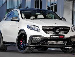 2016 BRABUS 850 4×4 Coupe is GLE63 Pumped Up to 850HP