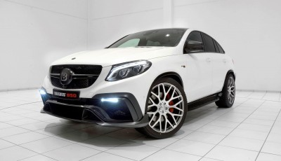 2016 BRABUS 850 4x4 Coupe is GLE63 13
