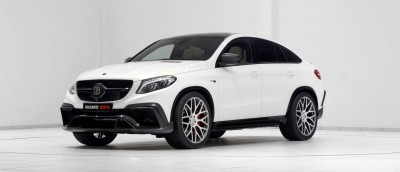 2016 BRABUS 850 4x4 Coupe is GLE63 14