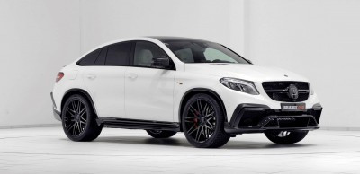 2016 BRABUS 850 4x4 Coupe is GLE63 15