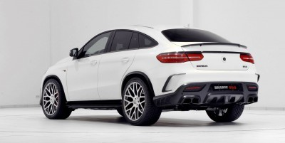 2016 BRABUS 850 4x4 Coupe is GLE63 16