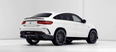 2016 BRABUS 850 4x4 Coupe is GLE63 17