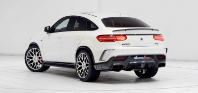 2016 BRABUS 850 4x4 Coupe is GLE63 18