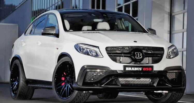 2016 BRABUS 850 4x4 Coupe is GLE63