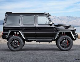2016 BRABUS G500 4×4² and G63 850 6.0 Biturbo WIDESTAR Are Rambo Twins for IAA