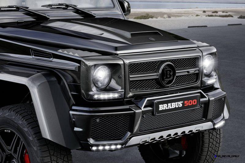 2016 BRABUS G500 4x4² 7