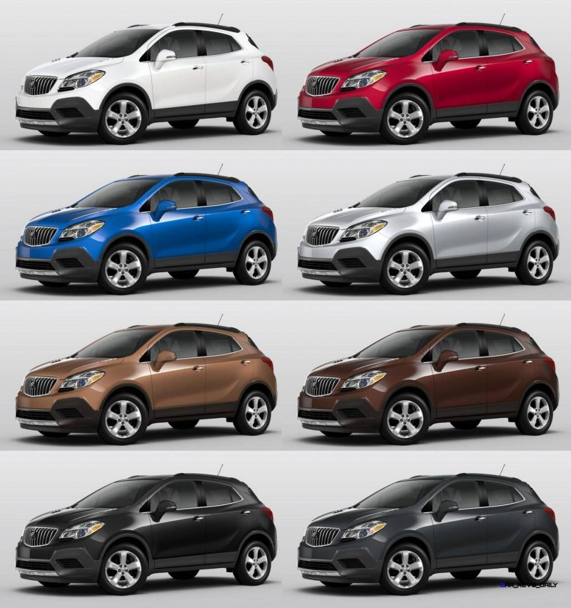 Jeep Cherokee Color Options 2015 Buick ENCORE Review