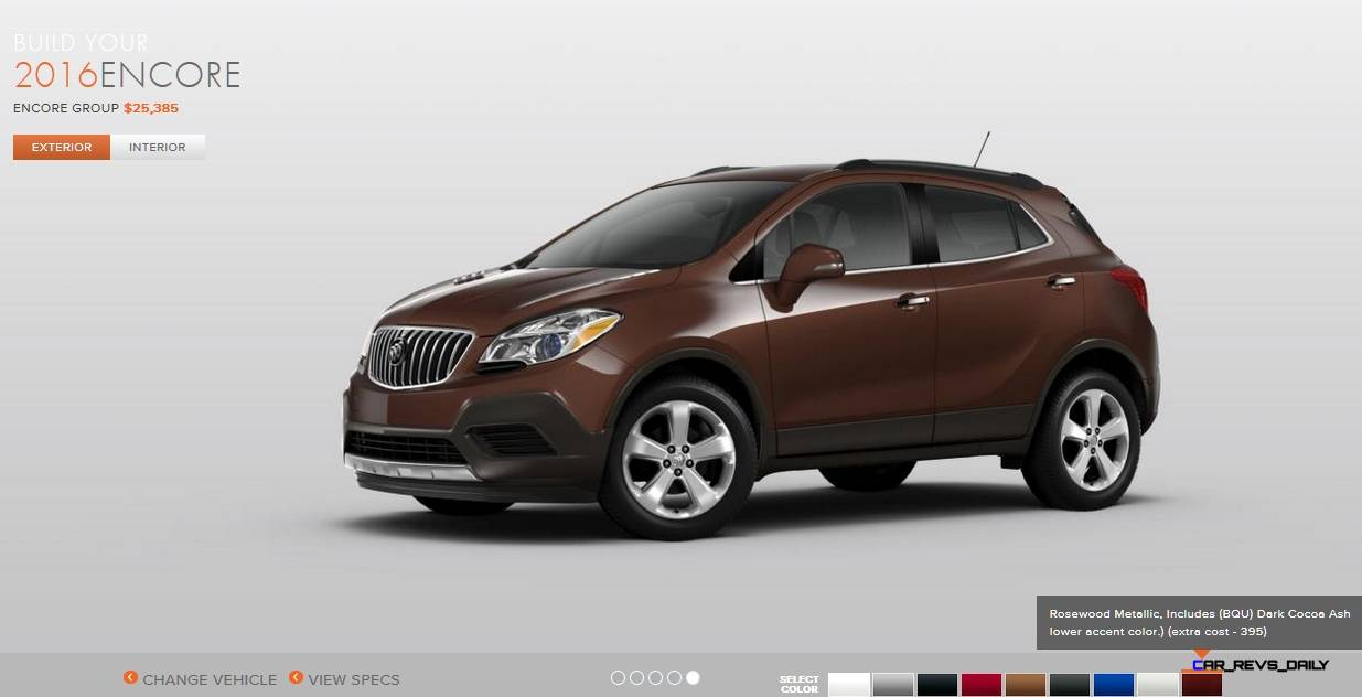2016 buick encore colors 11. Black Bedroom Furniture Sets. Home Design Ideas