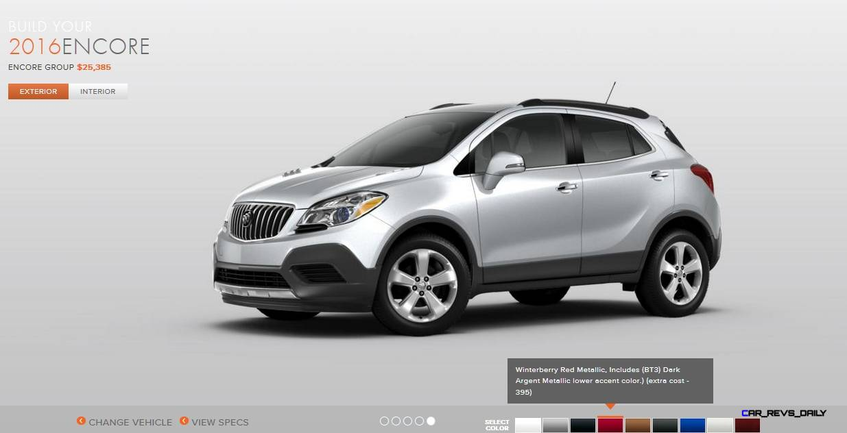Buick Encore Colors 28 Images 2016 Buick Encore Colors 5 2016 Buick Encore Colors 11 187