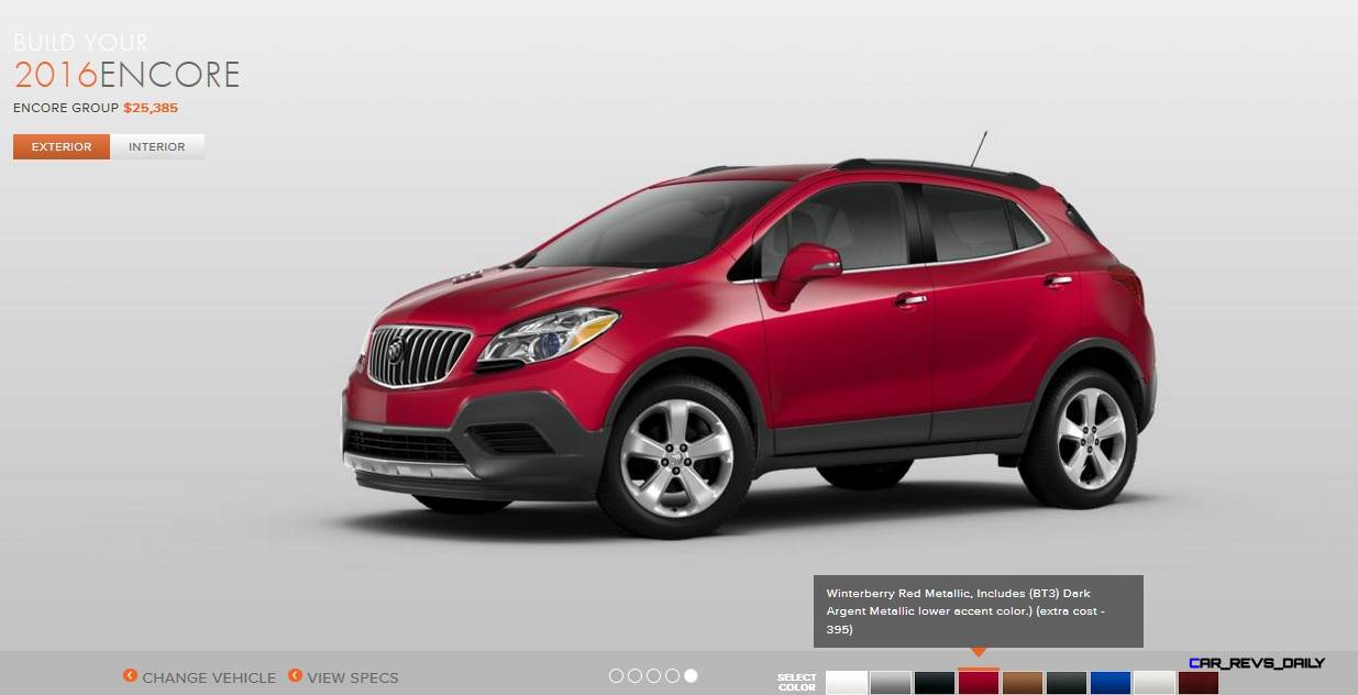 2016 Buick Encore Colors 5