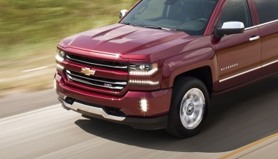 2016 Chevrolet Silverado 1500 LTZ Z71 in motion