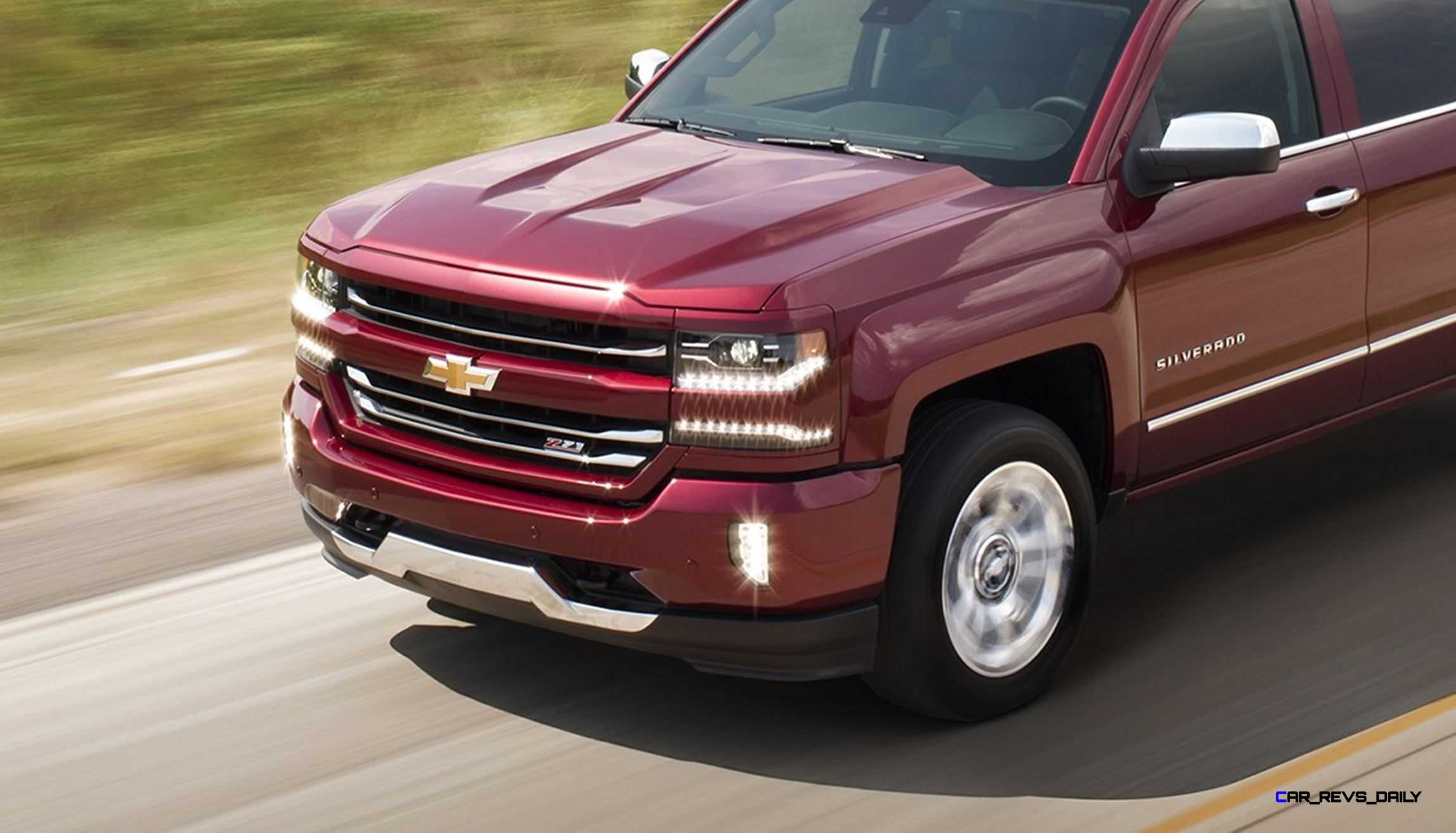 2016 chevrolet silverado brings lux led upgrades 8 speed auto for 5 3l v8. Black Bedroom Furniture Sets. Home Design Ideas