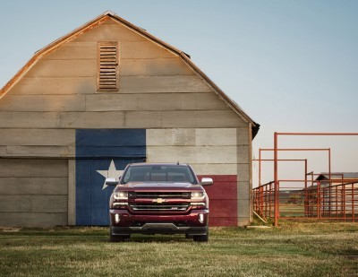 2016 Chevrolet Silverado 1500 LTZ Z71 with Texas graphic