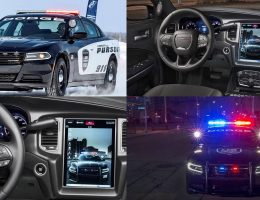 2016 Dodge Charger PURSUIT Debuts new 12-inch Touchscreen with PnP Police Computer Systems